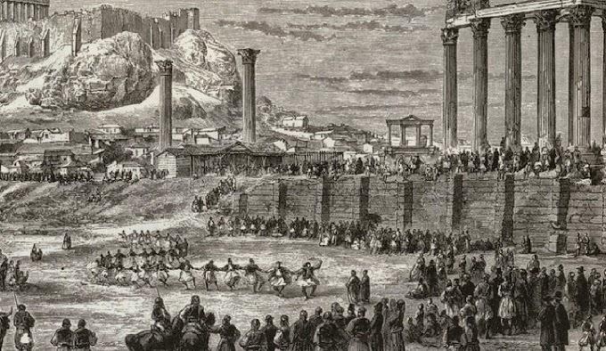 ΑΡΧΑΙΟΛΟΓΙΚΑ ΜΝΗΜΕΙΑ και ΤΟΠΟΓΡΑΦΙΑ των ΑΘΗΝΩΝ 1600-1700-1800.