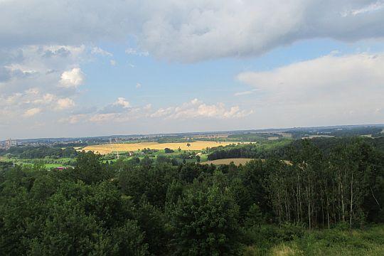 Panorama na wschód od Prudnika.
