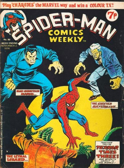 Spider-Man Comics Weekly, #90, Silvermane and Man-Mountain Marko