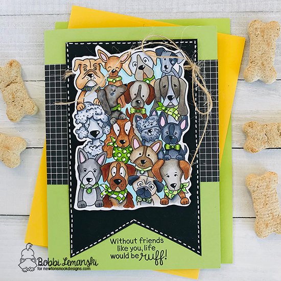 Without friends by Bobbi features Woof Pack by Newton's Nook Designs; #newtonsnook