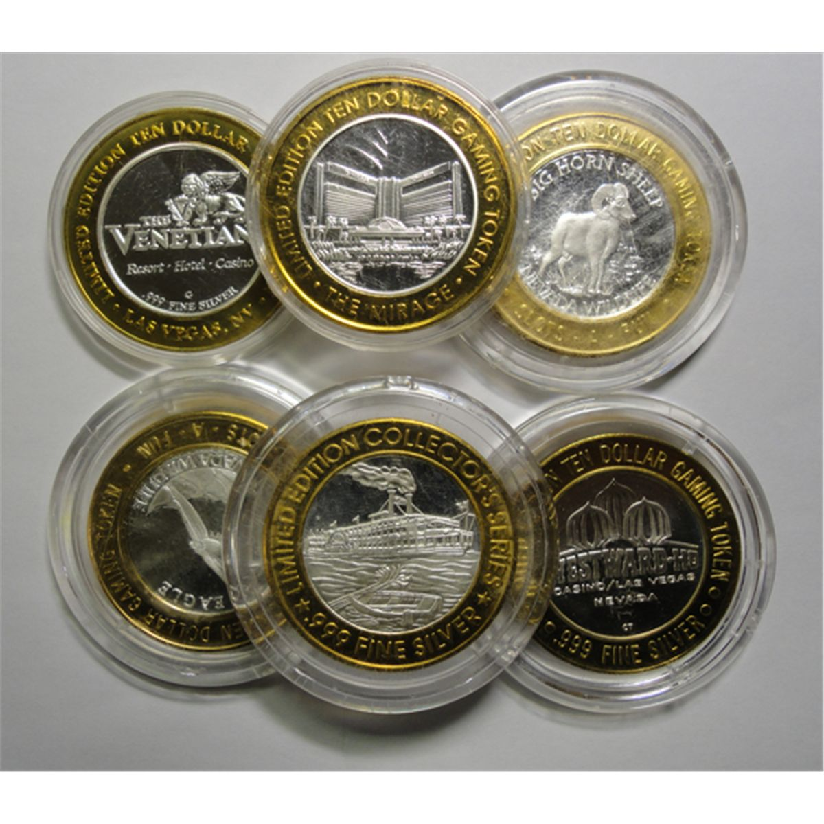 Casino Gaming Tokens 999 Silver Casino Gaming Token