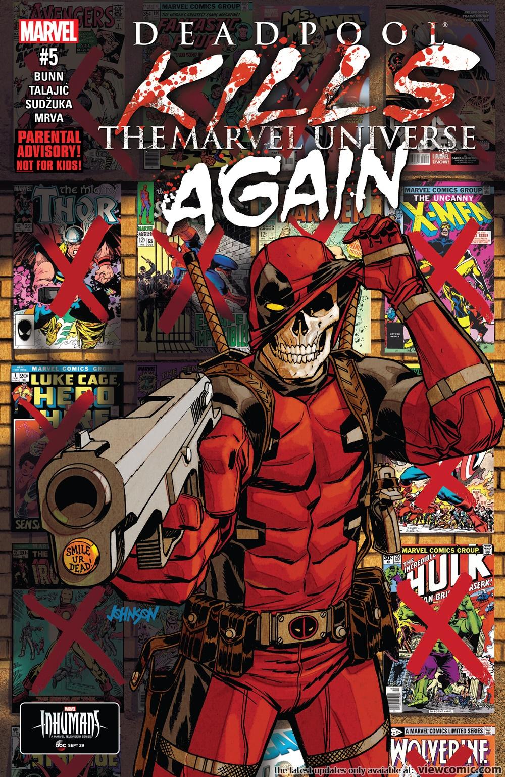 deadpool kills the marvel universe read online free