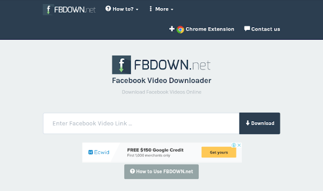 How to download Facebook videos with FBdown.net