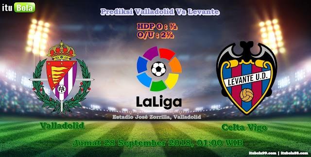 Prediksi Valladolid Vs Levante - ituBola