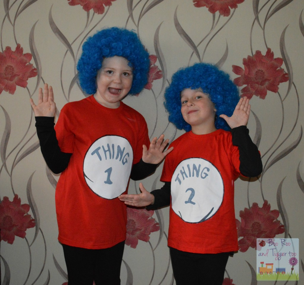 The best of world book day the parent game thing 1 and thing 2 costume solutioingenieria Choice Image
