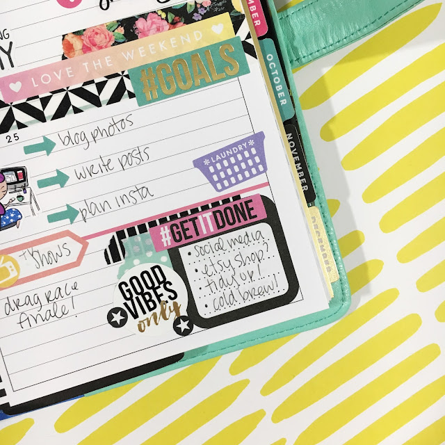 Functional Planner Stickers Mini Happy Planner