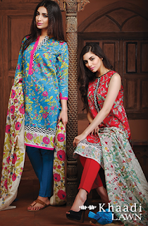 Khaadi Lawn Collection 2016 Suits