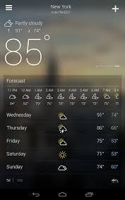 Aplikasi Ramalan Cuaca Android Terbaik dan Paling Akurat