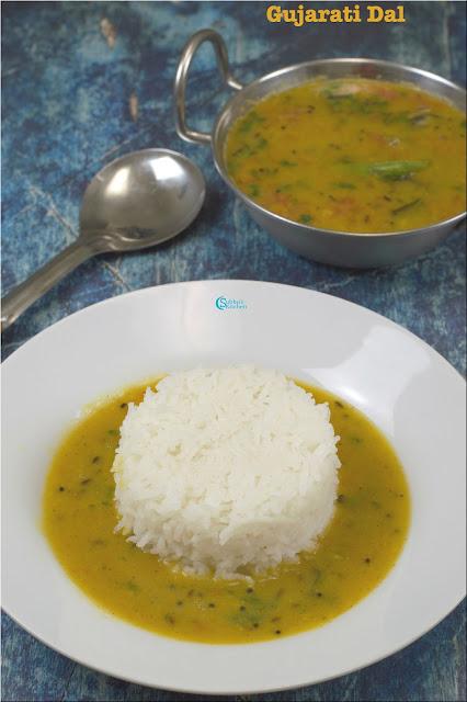 No Onion No Garlic Gujarati Dal