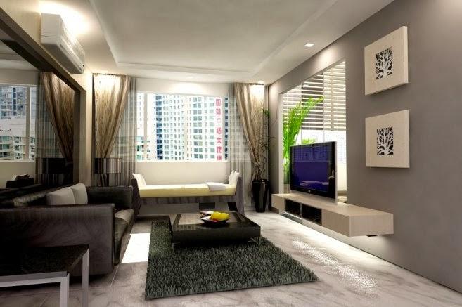 Kalau Ruang Tamu Tak Berapa Nak Besar A Macam Ni Pon Ok Dah Letak Cermin Dekat Belakang Sofa Nampak Luas Je Tips Sini
