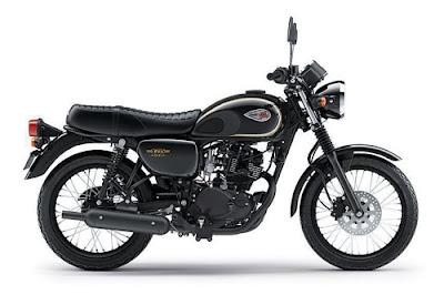 Review dan Spesifsikasi, Motor Kawasaki W175 Terbaru Desember 2018,