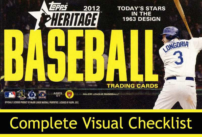 All About Sports Cards The Complete 2012 Topps Heritage Baseball
