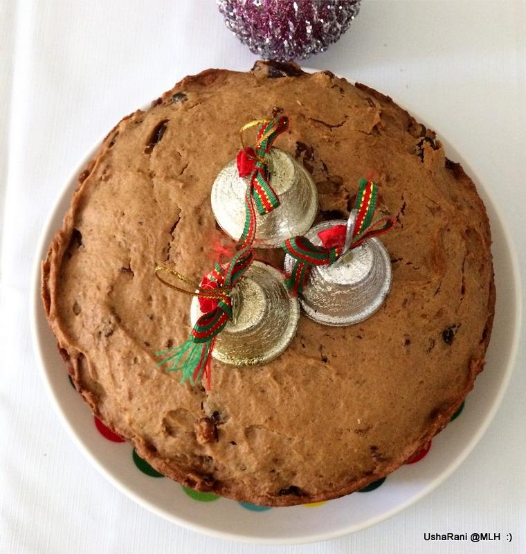 Easy Plum Cake Recipe Eggless