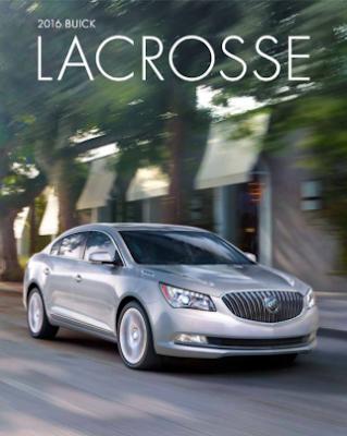 Downloadable 2016 Buick LaCrosse Brochure