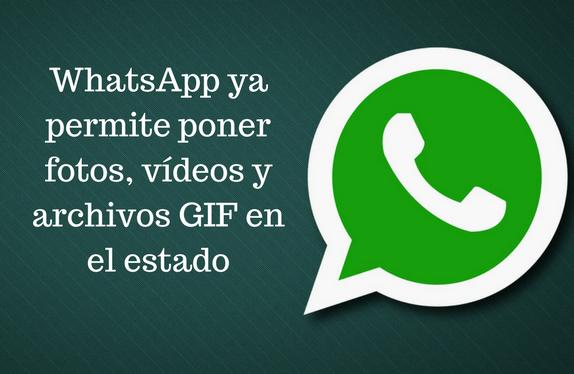 WhatsApp, Mensajería Instantánea, Redes Sociales, Fotos, Vídeos, GIF, estado