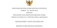 Peraturan Terbaru Syarat Menjadi Kepala Madrasah