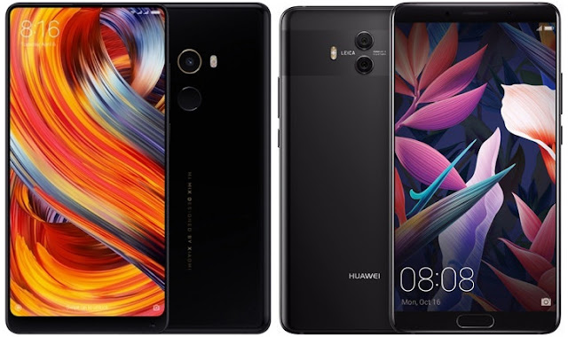 Xiaomi Mi Mix 2 vs Huawei Mate 10