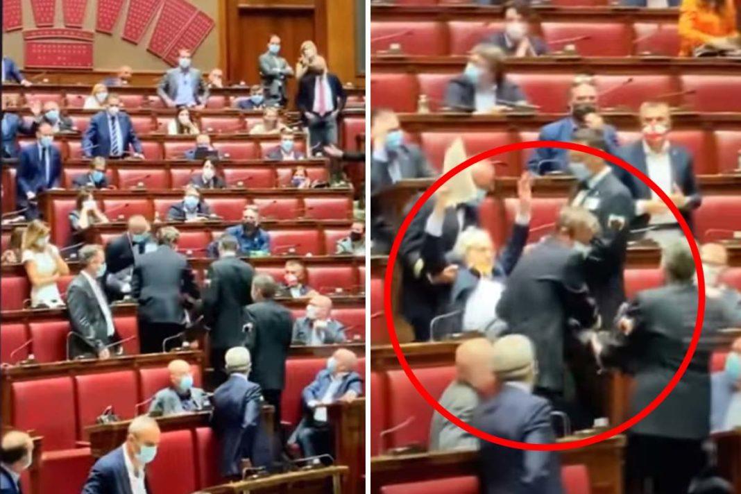 Έβγαλαν έξω σηκωτό τον βουλευτή που είπε γκάνγκστερ τους Εισαγγελείς (video)