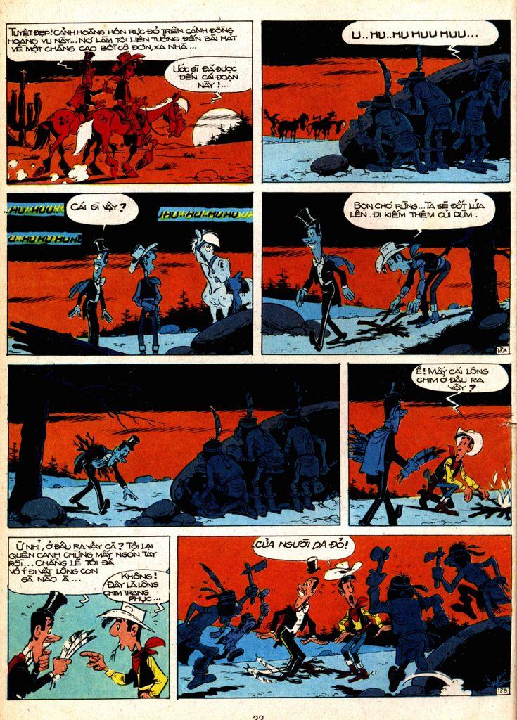Lucky Luke tap 1 - ban tay nham trang 17