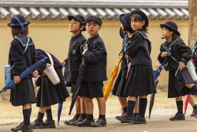 Trajeto Escolar no Japão