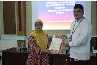 Kerjasama Fakultas Syari'ah dan Hukum UNISNU Jepara