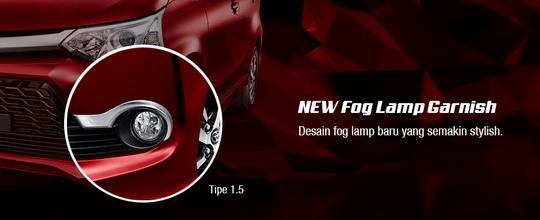 grand new avanza type g 1.3 accessories eksterior toyota e dan ...
