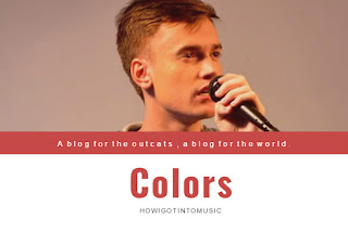 New Song Called  Colors  by George Hentu