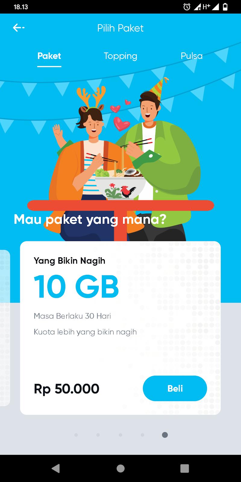 Paket Internet by.U Telkomsel
