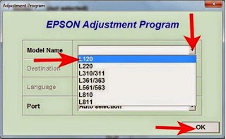 Epson L120 Resetter Free Download