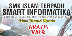 Informasi Pendaftaran SMK Gratis Smart Informatika Solopeduli Tahun 2019/2020 (PPDB SMK IT Smart Informatika)