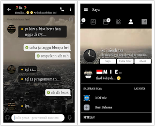 CHAT ME - Black & White Versi 3.3.6.51 Apk