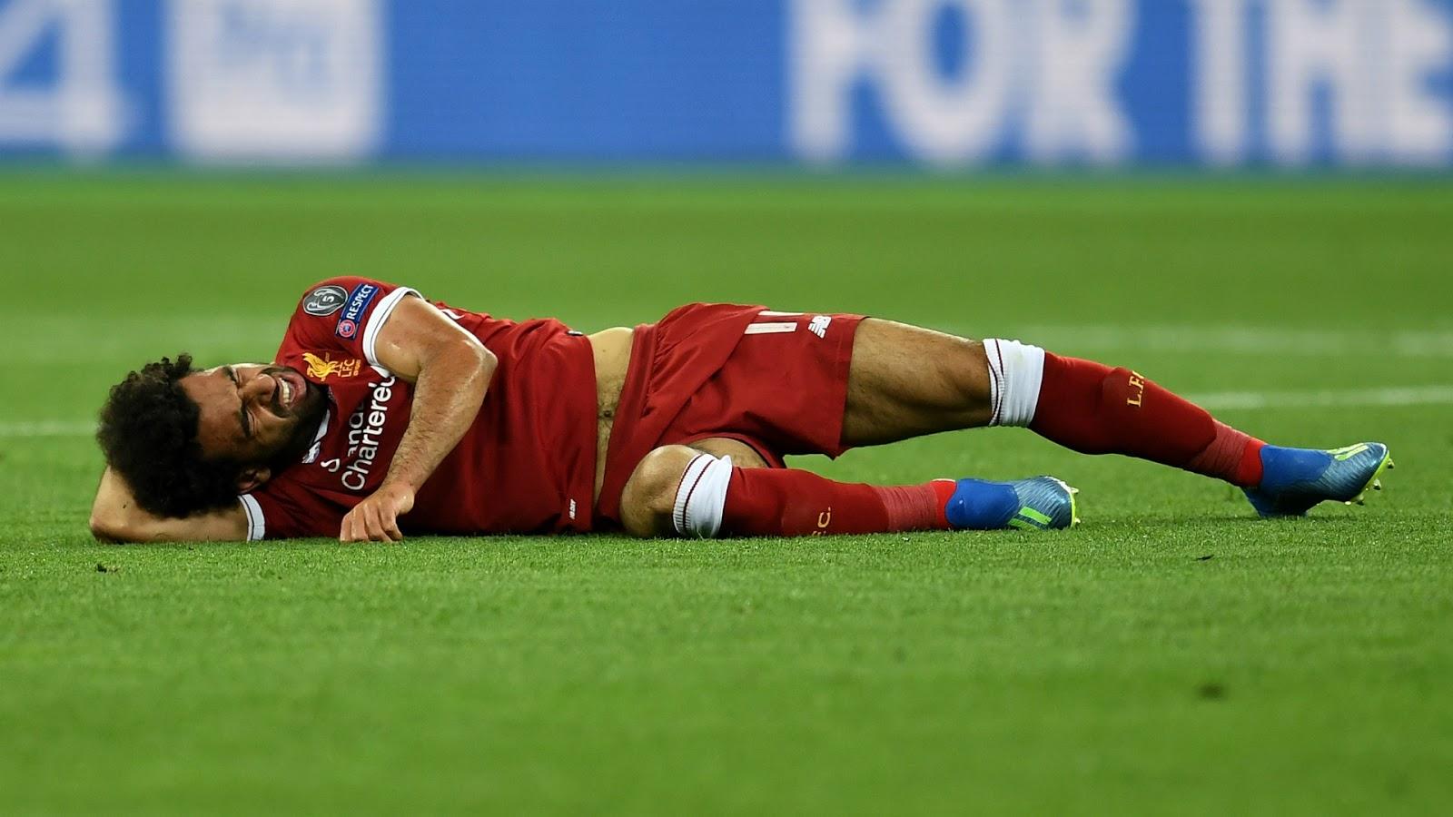 Mohamed Salah Cedera Setelah Berikan Mesir Kemenangan Telak