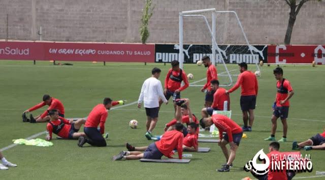 Independiente volvió a los trabajos en Villa Domínico con la presencia de Martin Campaña F3b7e327-dbc6-463e-96d3-36a95591f987-1024x570