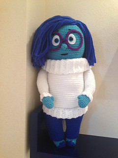Sadness from Inside-Out Free Amigurumi Patterns Bloglovin