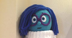 Inside Out Sadness Amigurumi : 2000 Free Amigurumi Patterns: Sadness from Inside-Out
