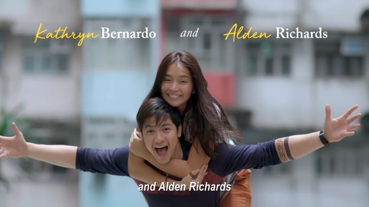 Hello, Love, Goodbye is a romantic film unde Star Cinema starring Kathryn Bernardo and Alden Richards, with Maymay Entrata, Kakai Bautista, Joross Gamboa, and Lovely Abella set in Hong Kong