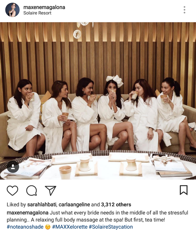fashion pulis insta scoop friends hold bachelorette party for