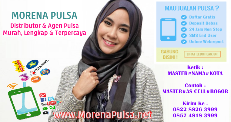 MorenaPulsa.net Web Resmi Server Morena Pulsa CV Jasa Payment Solution