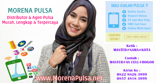 MorenaPayment.com Adalah Web Resmi Server Morena Pulsa Murah CV Jasa Payment Solution