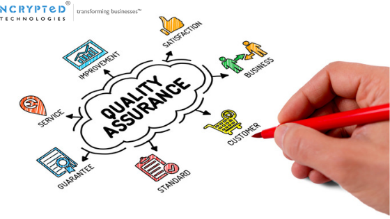 What is the main reason of consulting Quality Assurance Services?