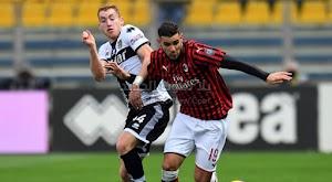 ميلان يحقق فوز صعب خارج ملعبه على فريق بارما بهدف وحيد في الدوري الايطالي