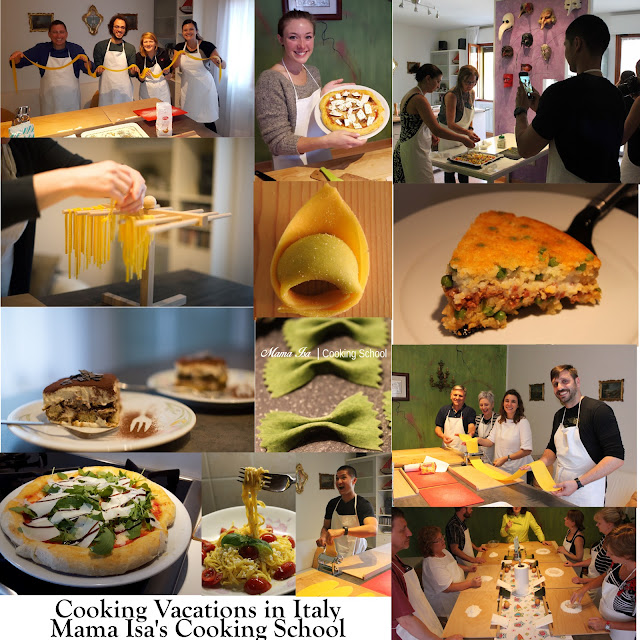 Cooking Vacations and Cooking Retreats in Italy