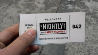 A ticket stub showing me as the 42nd visitor