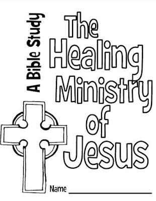 Jesus healing the bleeding woman