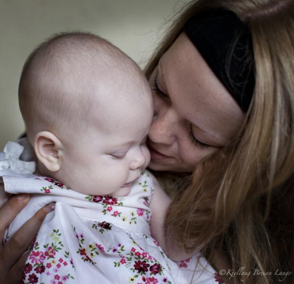 Fotograf Kjellaug Breian Langø: Mor og barn
