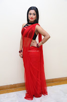 Aasma Syed in Red Saree Sleeveless Black Choli Spicy Pics ~  Exclusive Celebrities Galleries 043.jpg