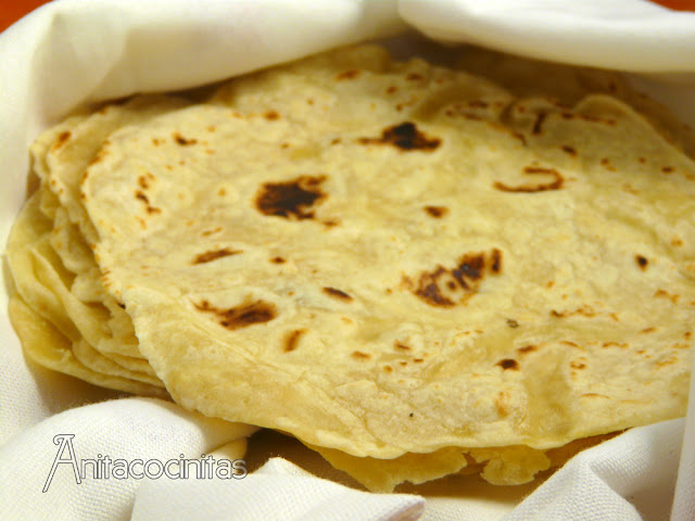 Tortillas mexicanas de trigo para fajitas