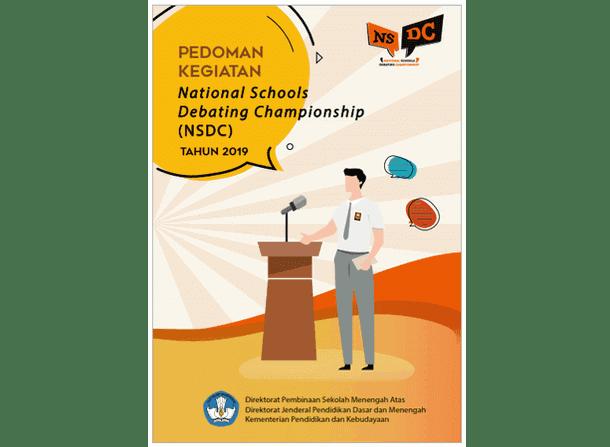 Pedoman NSDC (National Schools Debating Championship) SMA 2019