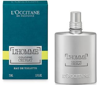 #LOCCITANEHOLIDAY16 L'Occitane L'Homme Cologne Cedrat