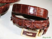 thắt lưng da cá sấu L09